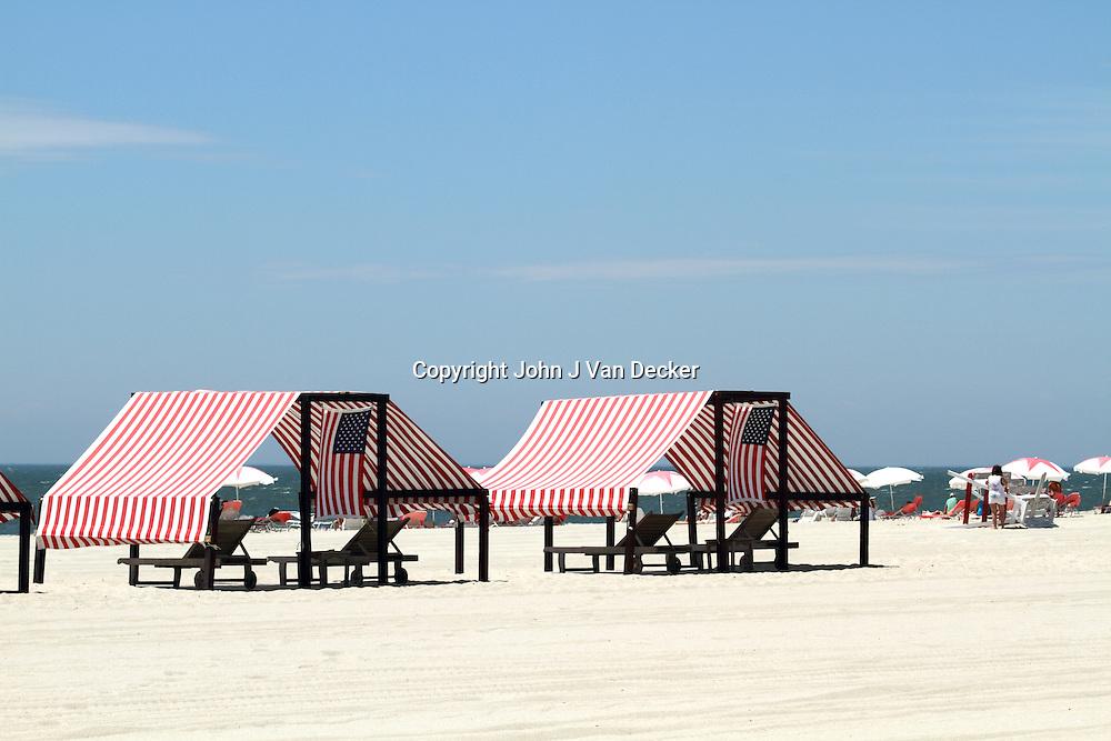 Cape May, New Jersey, Beach Cabanas