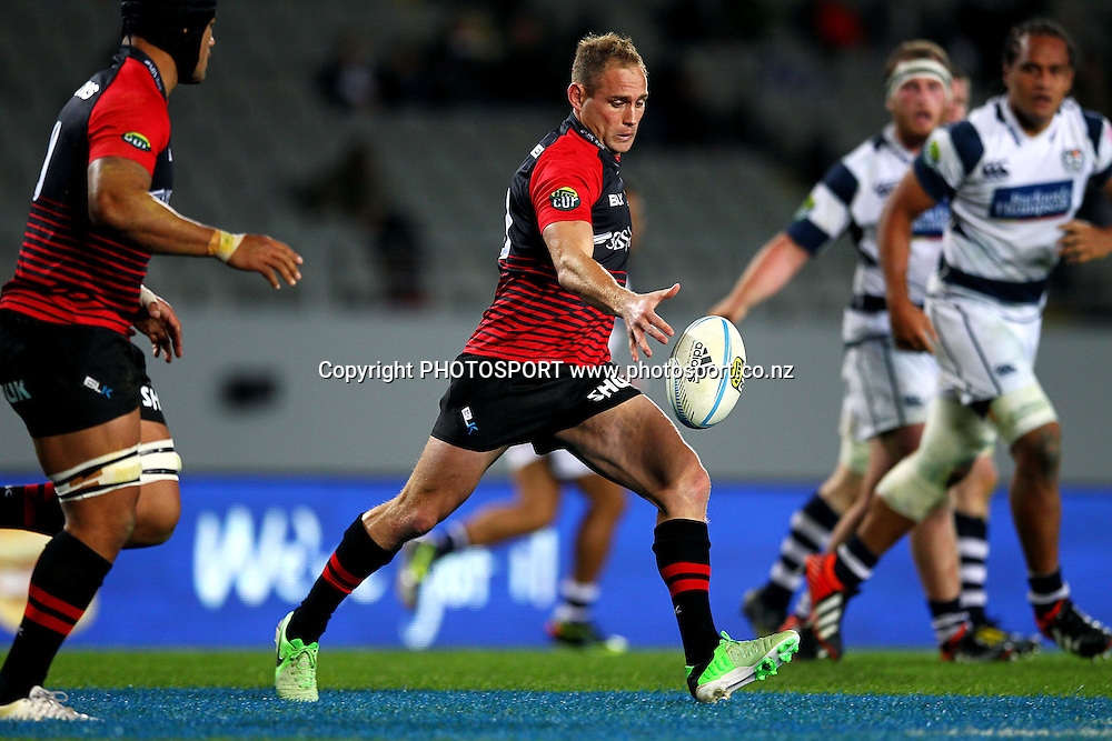Andy Ellis of Canterbury in action. ITM Cup rugby union match, Auckland v Canterbury at Eden Park, Auckland, New Zealand. Saturday 28th September 2013. Photo: Anthony Au-Yeung / photosport.co.nz