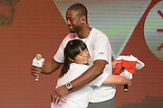 BEIJING, CHINA - JULY 03: (CHINA OUT) <br /> <br /> Dwyane Wade Visits Beijing<br /> <br /> American professional basketball player Dwyane Wade of the Miami Heat attends a meeting with fans on July 3, 2013 in Beijing, China. <br /> ©Exclusivepix