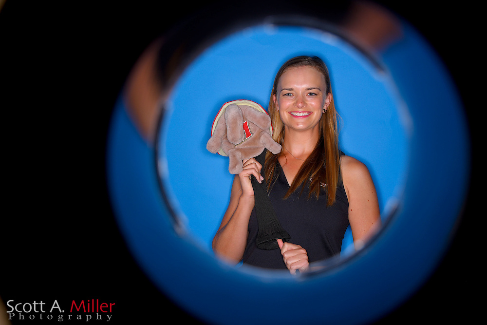 Emily Gimpel during a portrait session prior to the Symetra Tour's Guardian Retirement Championship  on April 19, 2016 in Sarasota, Florida.<br /> <br /> &copy;2016 Scott A. Miller