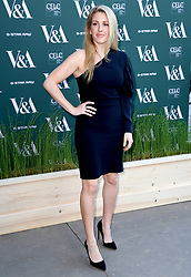 Ellie Goulding attending the VIP preview for the V&A Museum's Fashioned From Nature exhibition, in London. Photo credit should read: Doug Peters/EMPICS Entertainment