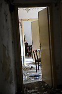 A abandoned home