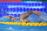 Margaux Fabre (FRA) competes on Women's 200 m Freestyle during the Swimming European Championships Glasgow 2018, at Tollcross International Swimming Centre, in Glasgow, Great Britain, Day 4, on August 5, 2018 - Photo Stephane Kempinaire / KMSP / ProSportsImages / DPPI
