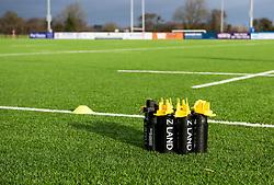Preparations for today's game - Mandatory by-line: Paul Knight/JMP - 11/01/2020 - RUGBY - Shaftesbury Park - Bristol, England - Bristol Bears Women v Firwood Waterloo Women - Tyrrells Premier 15s