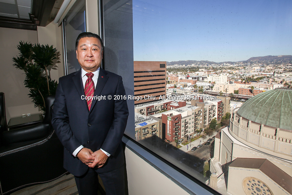 Chong Guk Kum, President and CEO of Hanmi Bank