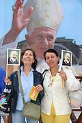 San Giovanni Rotondo 21 Giugno 2009, Visita Pastorale di Sua Santità Papa Benedetto  XVI , Italy San Giovanni Rotondo 21 06 2009, Visit of  Papa Benedetto  XVI in the foto  pellegrini