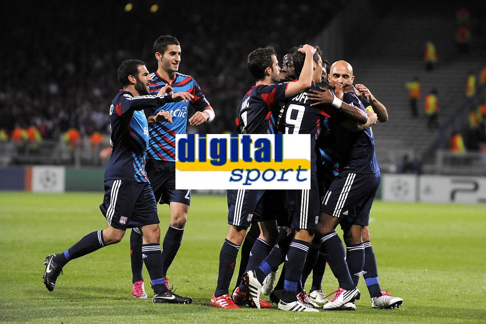 FOOTBALL - CHAMPIONS LEAGUE 2010/2011 - GROUP STAGE - GROUP B - OLYMPIQUE LYONNAIS v SL BENFICA - 20/10/2010 - PHOTO JEAN MARIE HERVIO / DPPI - JOY LYON