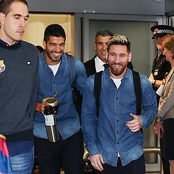 Barcelona arrival