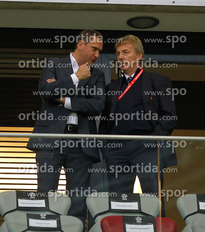 14.10.2014, Nationalstadium, Warsaw, POL, UEFA Euro Qualifikation, Polen vs Schottland, Gruppe D, im Bild ZBIGNIEW BONIEK // during the UEFA EURO 2016 Qualifier group D match between Poland and Scotland at the Nationalstadium in Warsaw, Poland on 2014/10/14. EXPA Pictures &copy; 2014, PhotoCredit: EXPA/ Newspix/ Michal Chwieduk<br /> <br /> *****ATTENTION - for AUT, SLO, CRO, SRB, BIH, MAZ, TUR, SUI, SWE only*****