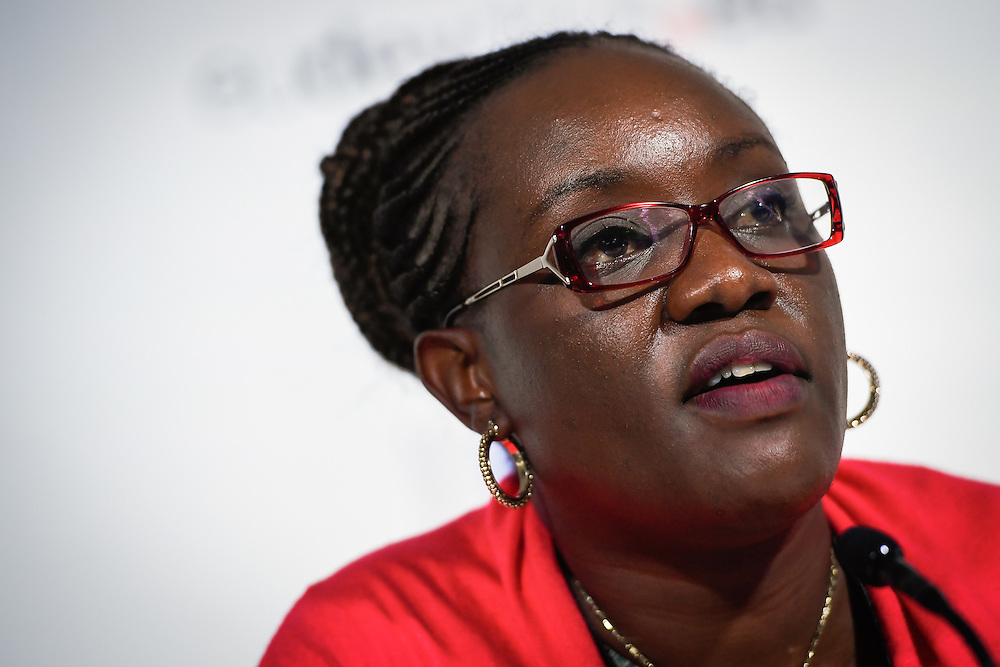 20160615 - Brussels , Belgium - 2016 June 15th - European Development Days - Quick wins for climate change and development  - Pacifica Achieng, Director of Climate Change<br /> Government of Kenya © European Union