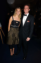 LADY KINVARA BALFOUR and RICCARDA LANZA at the British Red Cross London Ball held at The Room by The River, 99 Upper Ground, London SE1 on 16th November 2006.<br /><br />NON EXCLUSIVE - WORLD RIGHTS