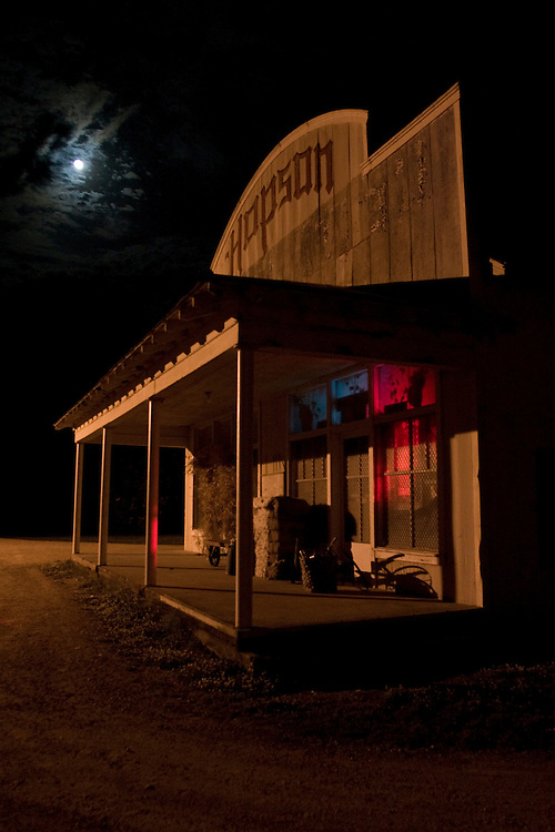 The commisary store at Hopson Plantation, outside Clarksdale, Miss., 2006. ..