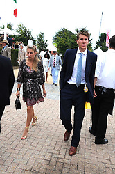 OTIS FERRY and FRANCESCA NEMMO at the 3rd day of the 2008 Glorious Goodwood racing festival at Goodwood Racecourse, West Sussex on 31st July 2008.<br /> <br /> NON EXCLUSIVE - WORLD RIGHTS