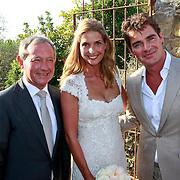 SPA/La Bisbal/20110711 - Huwelijk Jeroen van der Boom en Dani de Wit, met Frank Wentink