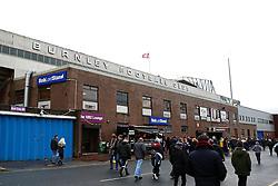 A general view as fans arrive at Turf Moor - Mandatory byline: Matt McNulty/JMP - 07966 386802 - 02/01/2016 - FOOTBALL - Turf Moor - Burnely, England - Burnley v Ipswich - Sky Bet Championship