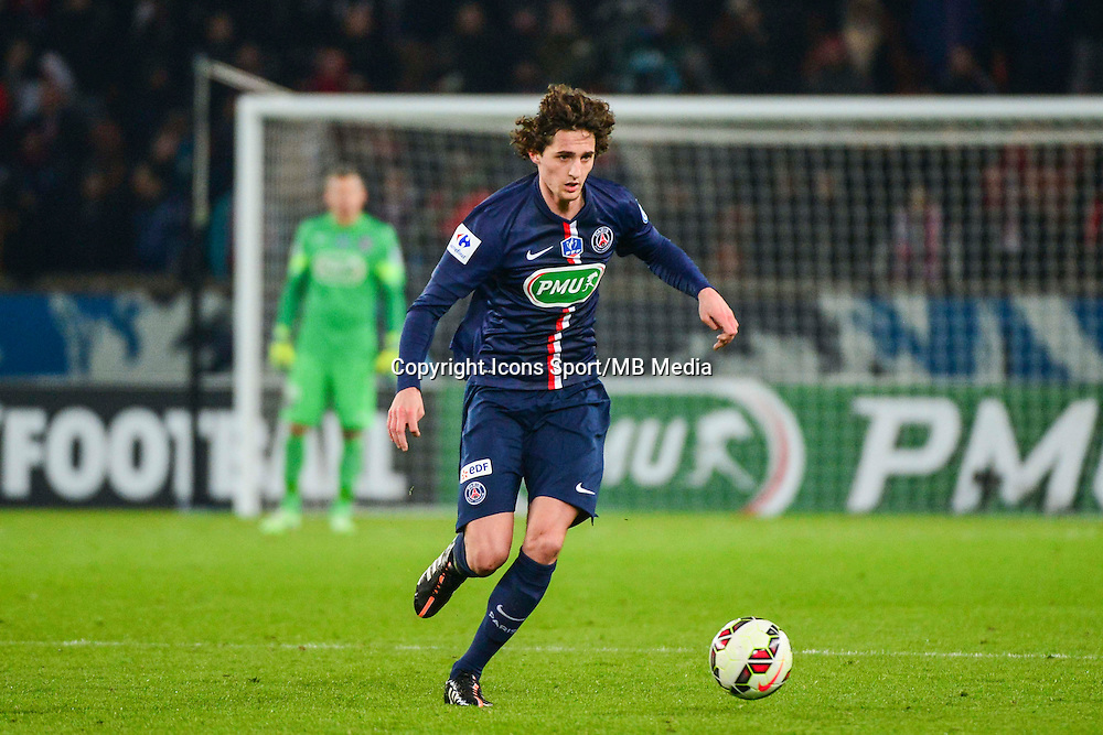 Adrien RABIOT - 21.01.2015 - Paris Saint Germain / Bordeaux - Coupe de France<br /> Photo : Dave Winter / Icon Sport