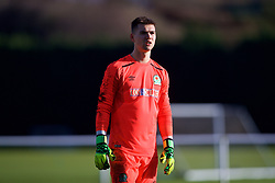 BLACKBURN, ENGLAND - Saturday, January 6, 2018: Blackburn Rovers' goalkeeper Matty Campbell during an Under-18 FA Premier League match between Blackburn Rovers FC and Liverpool FC at Brockhall Village Training Ground. (Pic by David Rawcliffe/Propaganda)