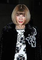 Anna Wintour, Fast Forward - NT Fundraising Gala, National Theatre, London UK, 04 March 2015, Photo By Brett D. Cove