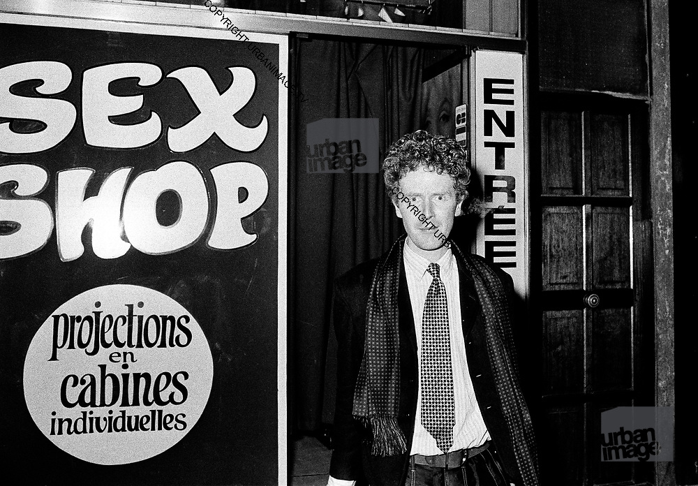 Malcolm McLaren in Paris - 1980