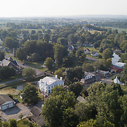 Drone footage of downtown and Merchant's Row in Perryville, Ky., on July 24, 2017. Photo by David Stephenson
