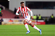 Stoke City forward Tyrese Campbell in action during the EFL Sky Bet Championship match between Stoke City and Preston North End at the Bet365 Stadium, Stoke-on-Trent, England on 12 February 2020.