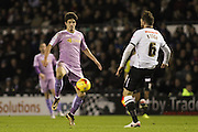 Reading FC midfielder Lucas Piazon on the ball during the Sky Bet Championship match between Derby County and Reading at the iPro Stadium, Derby, England on 12 January 2016. Photo by Aaron Lupton.