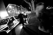 17350Police ride along/parties/bars: for Alcohol story for Ohio Today. Photos by Michael Rubenstein...Police LT Woodyard