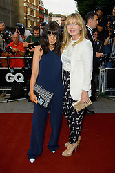 GQ Men of the Year Awards 2013. <br /> Claudia Winkleman (L) during the GQ Men of the Year Awards, the Royal Opera House, London, United Kingdom. Tuesday, 3rd September 2013. Picture by Chris  Joseph / i-Images