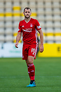 Niall McGinn (#10) of Aberdeen FC during the Ladbrokes Scottish Premiership match between Livingston FC and Aberdeen FC at The Tony Macaroni Arena, Livingston, Scotland on 21 September 2019.