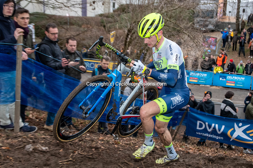 2020-01-05 Cycling: dvv verzekeringen trofee: Brussels: Corne van Kessel showing a strong performance for his new team