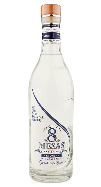 8 Mesas Tequila Silver -- Image originally appeared in the Tequila Matchmaker: http://tequilamatchmaker.com