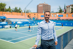 Aljaz Kos, tournament director during Day 6 at ATP Challenger Zavarovalnica Sava Slovenia Open 2018, on August 8, 2018 in Sports centre, Portoroz/Portorose, Slovenia. Photo by Vid Ponikvar / Sportida