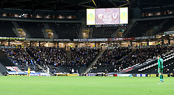 Bristol Rovers fans at Milton Keynes Dons - Mandatory by-line: Robbie Stephenson/JMP - 18/10/2016 - FOOTBALL - Stadium MK - Milton Keynes, England - Milton Keynes Dons v Bristol Rovers - Sky Bet League One