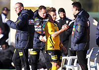 Fotball , 11. februar 2013 , privatkamp ,La Manga<br /> Lillestrøm - Astra Giurgiu 1-0<br /> trener Magnus Haglund , LSK<br /> Fredrik Gulbrandsen og Magnus Powell , LSK