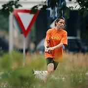 Yolanda Adriaansens gaat joggen met hond