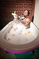 #5 Take Bath<br /> &lt;br&gt;<br /> Alex Powers, Musician<br /> &lt;P&gt;<br /> Bath time, rock-n-roll style.