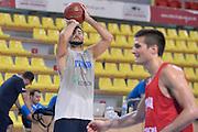 DESCRIZIONE : Skopje torneo internazionale - Allenamento<br /> GIOCATORE : Pietro Aradori<br /> CATEGORIA : nazionale maschile senior A <br /> GARA : Skopje torneo internazionale - Allenamento <br /> DATA : 24/07/2014 <br /> AUTORE : Agenzia Ciamillo-Castoria
