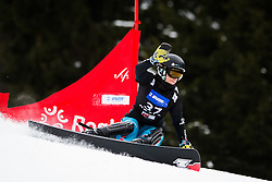 Ramona Theresia Hofmeister (GER) competes during Qualification Run of Women's Parallel Giant Slalom at FIS Snowboard World Cup Rogla 2016, on January 23, 2016 in Course Jasa, Rogla, Slovenia. Photo by Ziga Zupan / Sportida