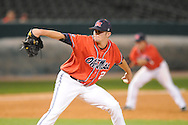 Mississippi pitcher Matt Tracy vs. Memphis at Autozone Park in Memphis, Tenn. on Tuesday, April 13, 2010. Memphis won 6-5.