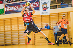 29.09.2018, Sporthalle Leoben-Donawitz, Leoben, AUT, HLA, Union JURI Leoben vs Sparkasse Schwaz HANDBALL TIROL, im Bild Alexander Wanitschek (Sparkasse Schwaz HANDBALL TIROL) // during the Handball League Austria, match between Union JURI Leoben vs Sparkasse Schwaz HANDBALL TIROL at the sport Hall, Leoben, Austria, 2018/09/29, EXPA Pictures © 2018, PhotoCredit: EXPA/ Dominik Angerer
