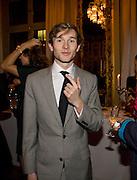 DICK CHARTERIS,  Drinks the evening before the The 2008 Crillon Debutante Ball. Baccarat. Place des Etats-Unis.  Paris. 29 November 2008. *** Local Caption *** -DO NOT ARCHIVE-© Copyright Photograph by Dafydd Jones. 248 Clapham Rd. London SW9 0PZ. Tel 0207 820 0771. www.dafjones.com.