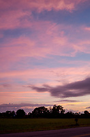 Pastel Sky at Dawn. 5 of 13 Images taken with a Leica X2 camera and 24 mm f/2.8 lens (ISO 125, 24 mm, f/2.8, 1/30 sec). Raw images processed with Capture One Pro and the panorama generated using AutoPano Giga Pro.