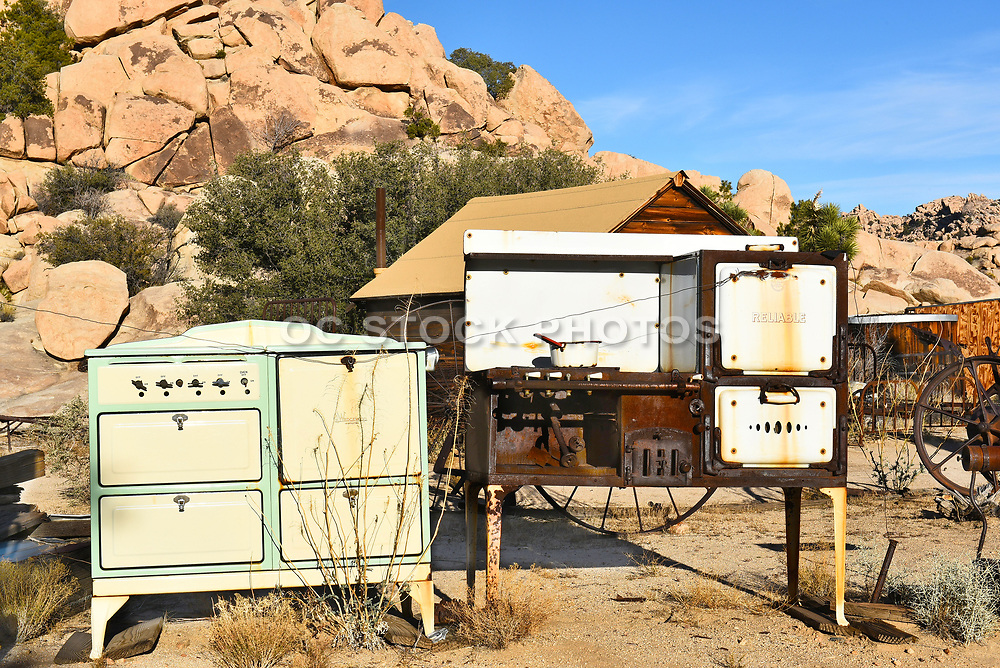 Old Stoves at Keys Ranch Joshua Tree National Park