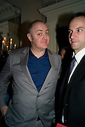 DERMOT O'BRIEN, Colman Getty PEN QUIZ 2008, Cafe Royal. London. 24 November 2008 *** Local Caption *** -DO NOT ARCHIVE -Copyright Photograph by Dafydd Jones. 248 Clapham Rd. London SW9 0PZ. Tel 0207 820 0771. www.dafjones.com