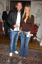ADELA KING and BEN BLOOMFIELD at the Bruce Oldfield Crimestoppers Party held at Spencer House, 27 St.James's Place, London SW1 on 22nd September 2005.<br /><br />NON EXCLUSIVE - WORLD RIGHTS