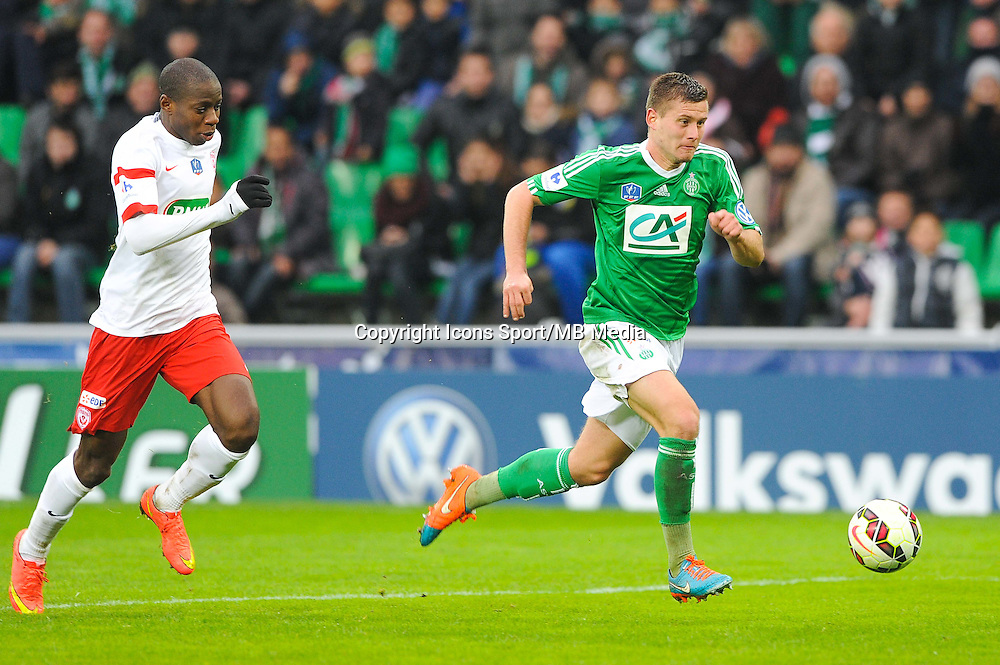 Franck TABANOU  - 04.01.2015 - Saint Etienne / Nancy - Coupe de France<br /> Photo : Jean Paul Thomas / Icon Sport