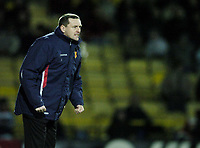 Photo: Jonathan Butler.<br />Watford v Stockport County. The FA Cup. 06/01/2007.<br />Watford Manager Adrian Boothroyd.