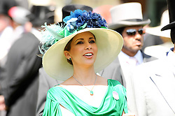 PRINCESS HAYA OF JORDAN at the third day of the Royal Ascot 2010 (Ladies Day) Racing Festival at Ascot Racecourse, Bershire on 17th June 2010.
