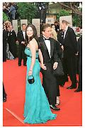 Michael Douglas and Catherine Zeta Jones. Golden Globes. Beverley Hilton. 21 January 2001. © Copyright Photograph by Dafydd Jones 66 Stockwell Park Rd. London SW9 0DA Tel 020 7733 0108 www.dafjones.com