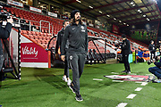 Matias Ezequiel Schelotto (21)  of Brighton and Hove Albion arrives ahead of the Premier League match between Bournemouth and Brighton and Hove Albion at the Vitality Stadium, Bournemouth, England on 21 January 2020.